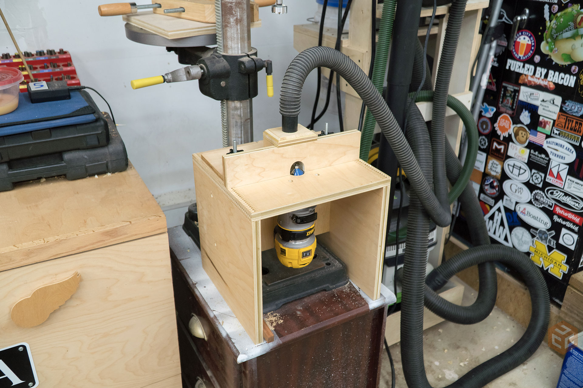 Benchtop Router Table | Jays Custom Creations