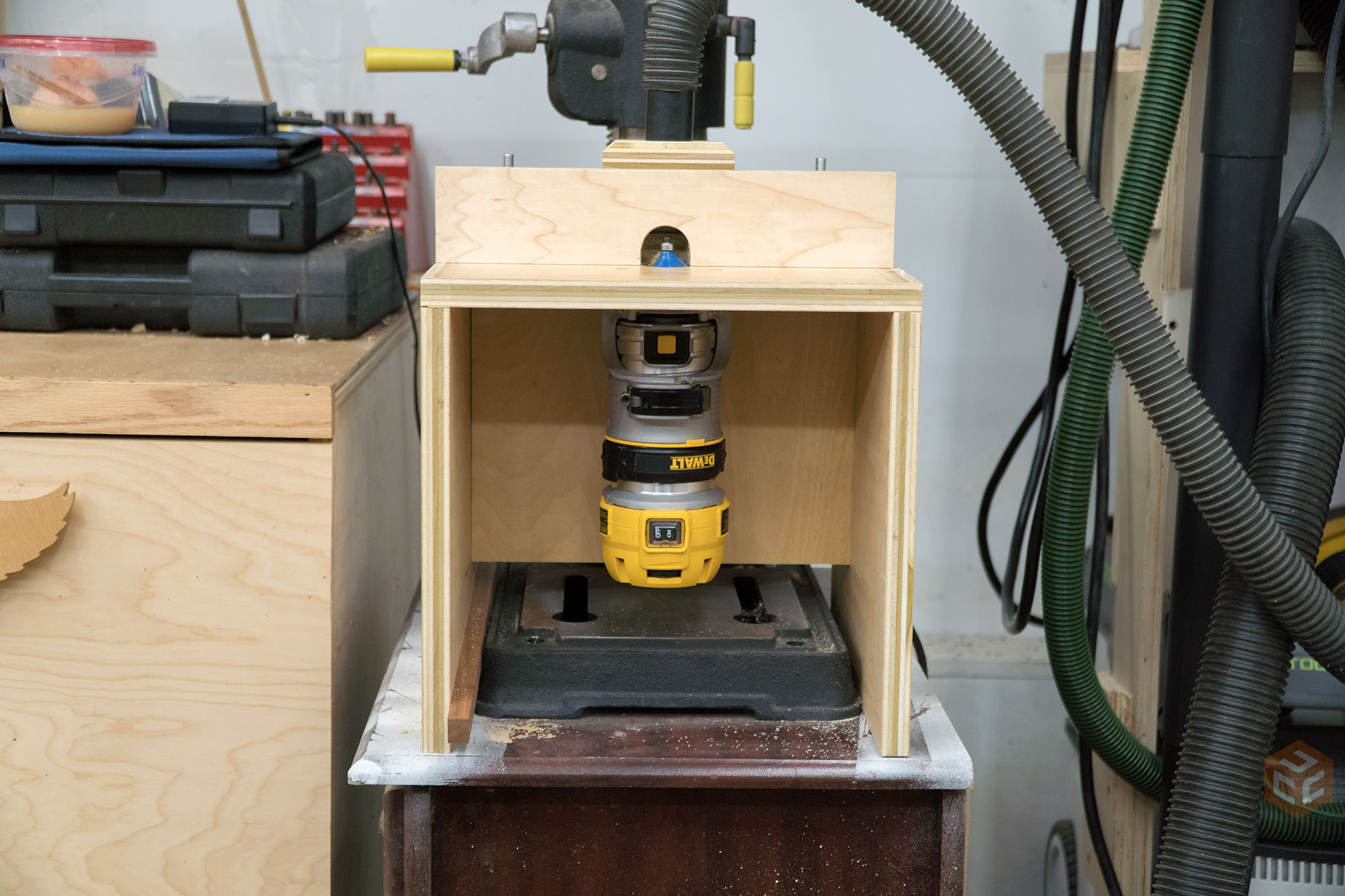 Benchtop router table jays custom creations benchtop router table 23 greentooth Choice Image