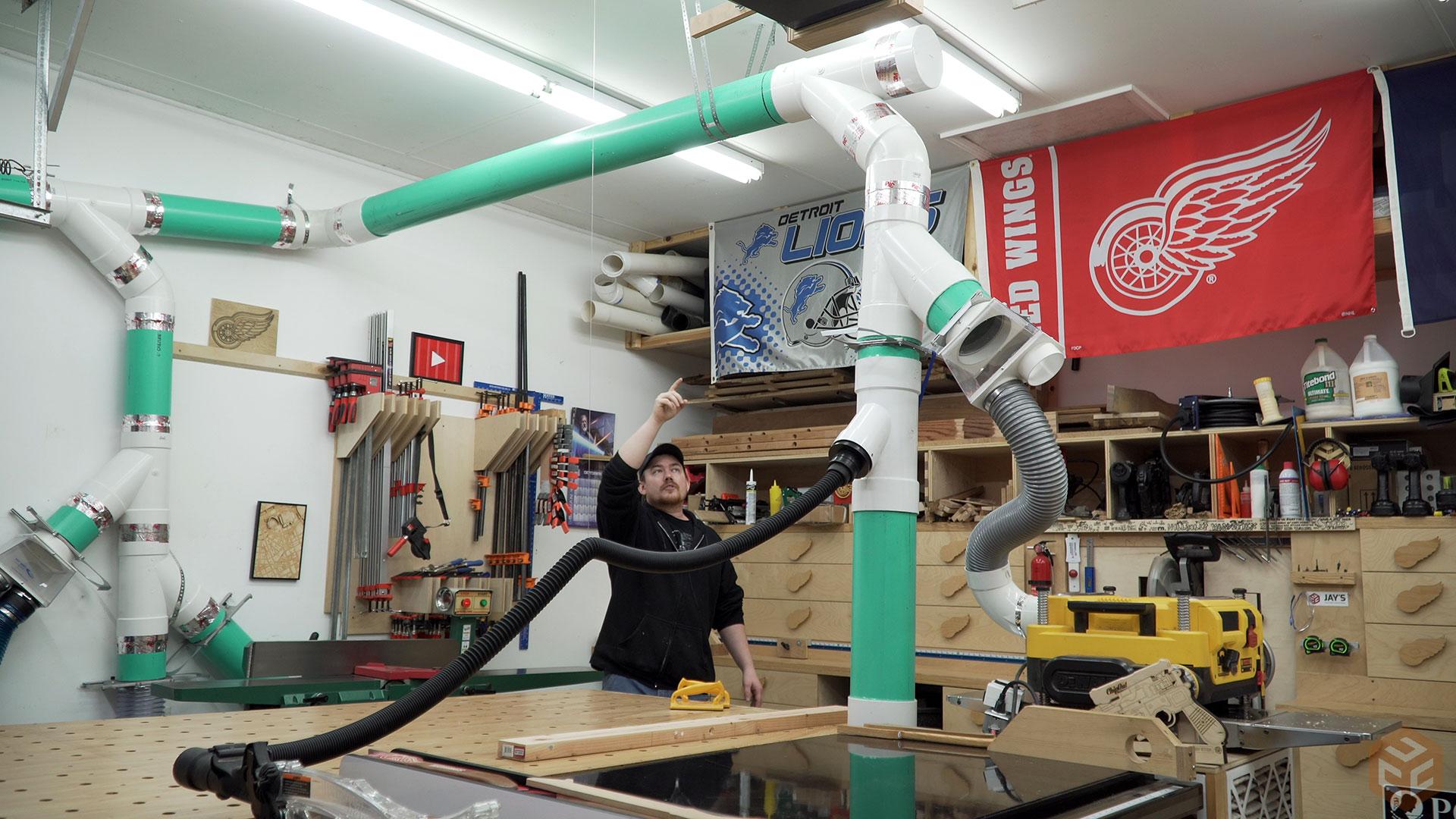 Inspirational Garage Shop Vac System