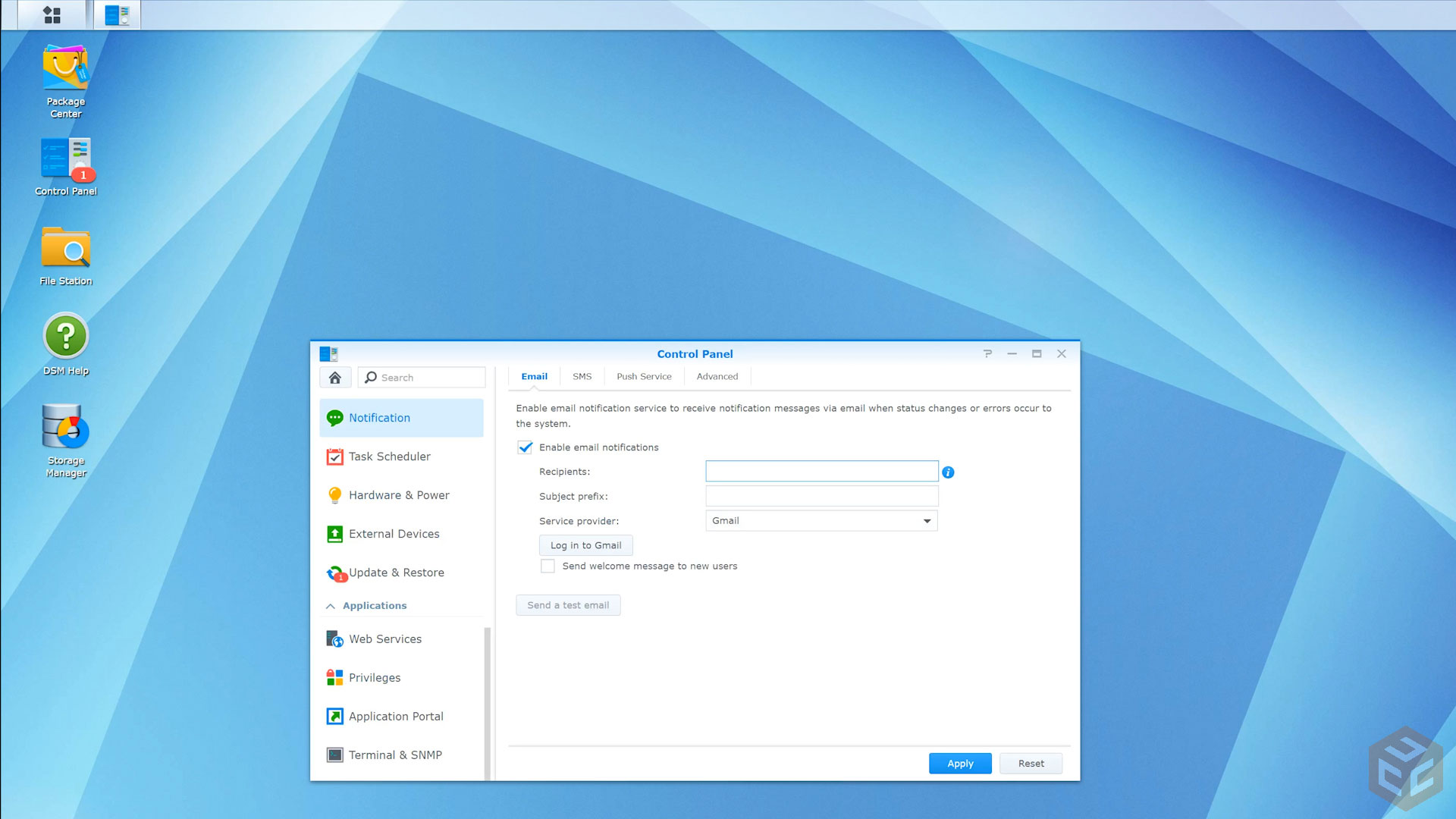 Setting up a NAS – Network Attached Storage – Synology