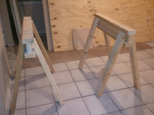 My favorite style of sawhorses