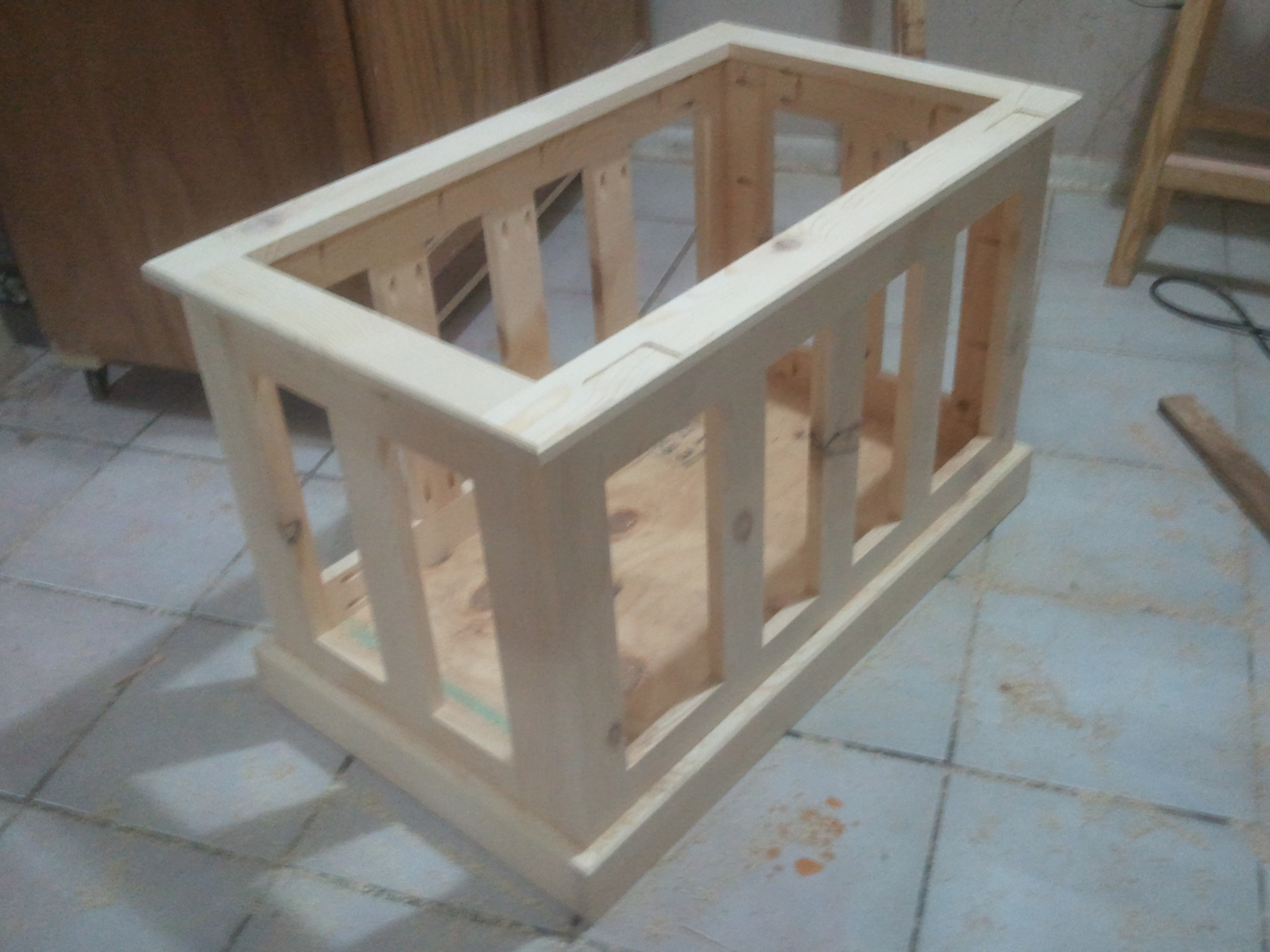 Build a Toy Box Chest