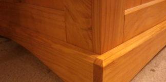 pine blanket chest