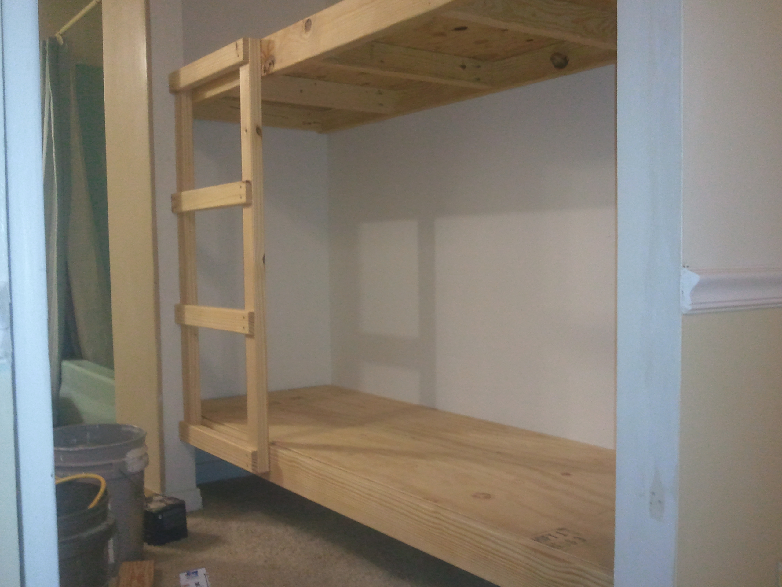 "Built in Bunk Bed and ""Elf Bunk Beds"" 