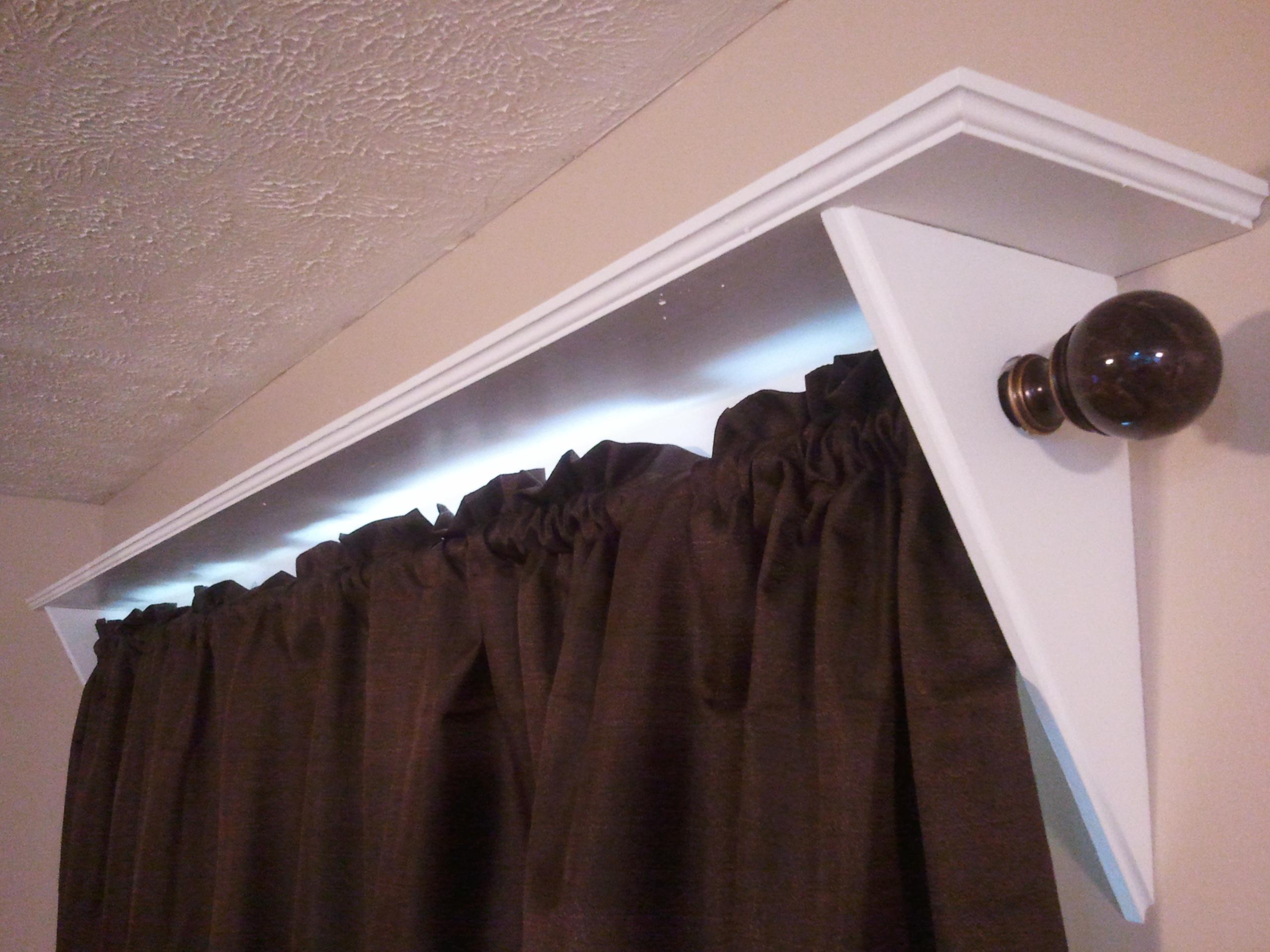 Curtain Rod Shelves Jays Custom Creations