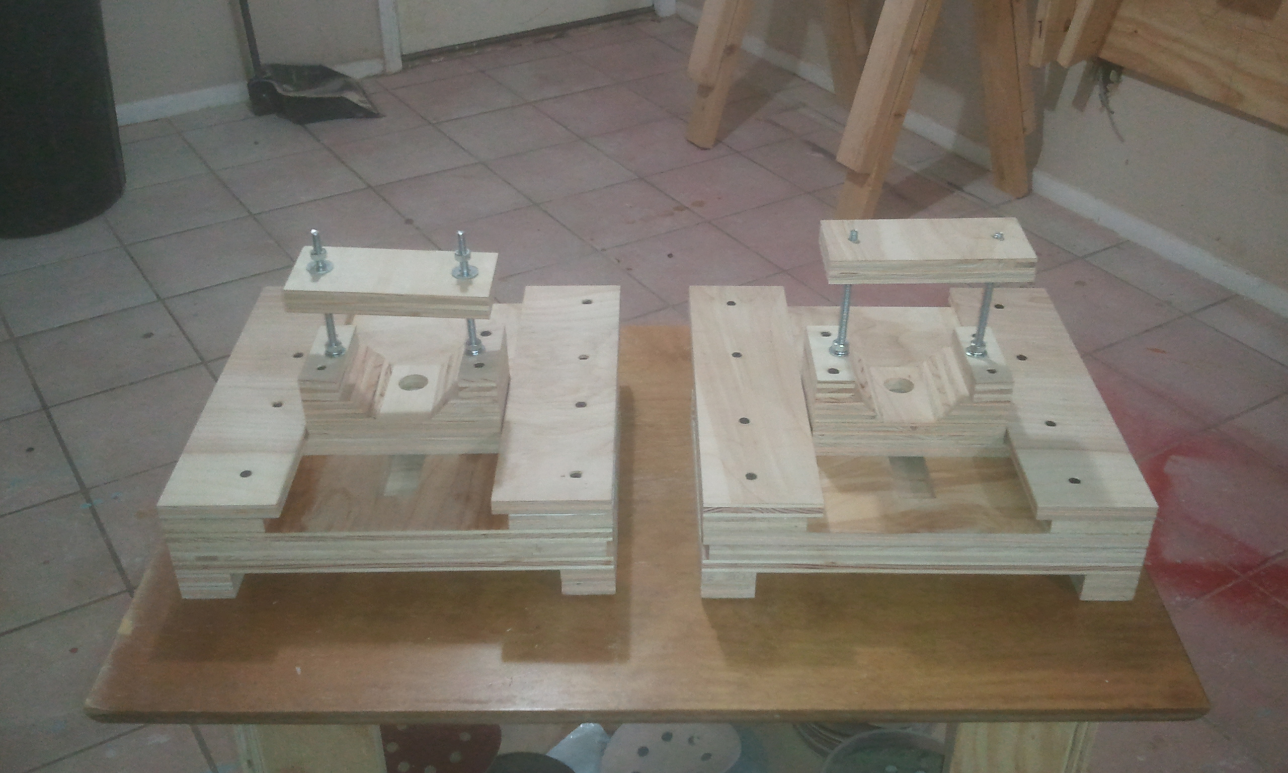 Dual Homemade Router Lifts Jays Custom Creations