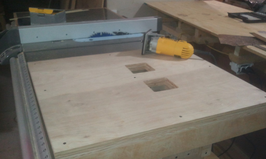 Dual Router Table Top
