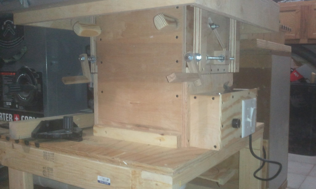 Dual Router Cabinet