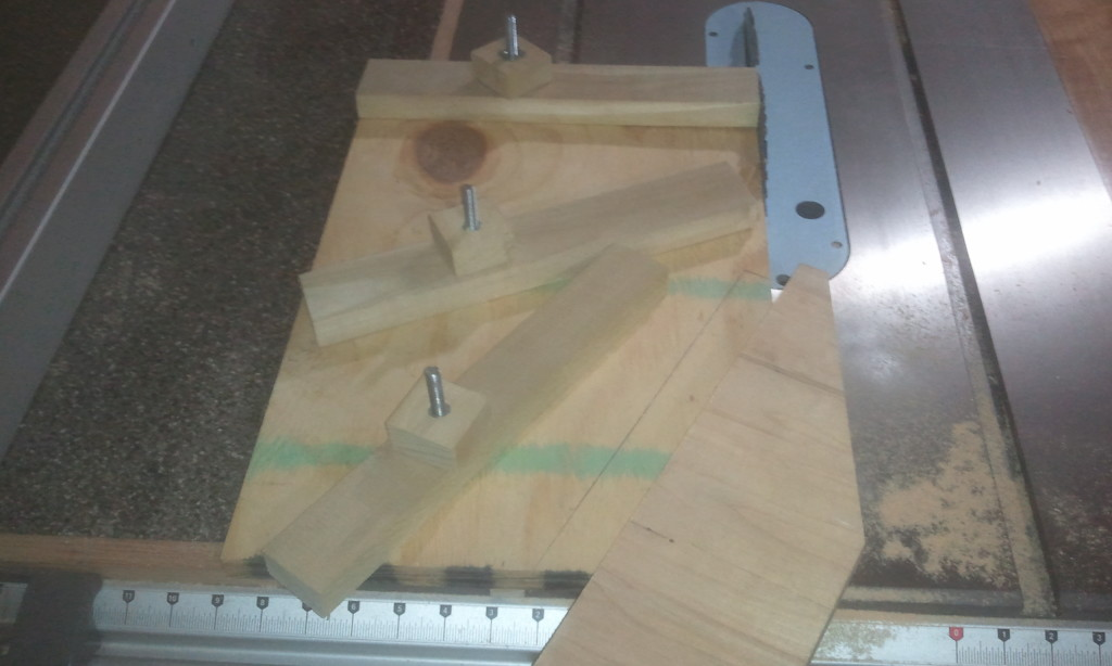 Easy Layout With My Table Saw Jointing Jig