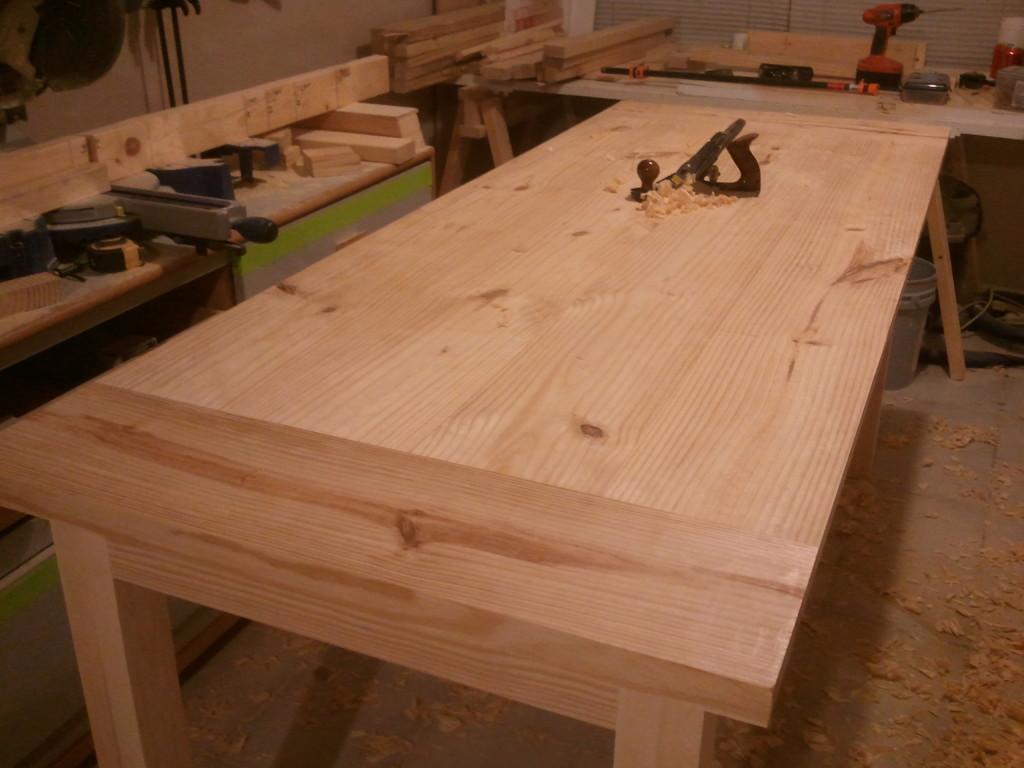 Farm Table for homestead center