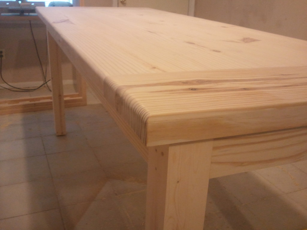 Farm Table for homestead center