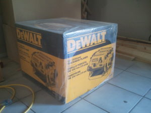 Dewalt DW735 planer