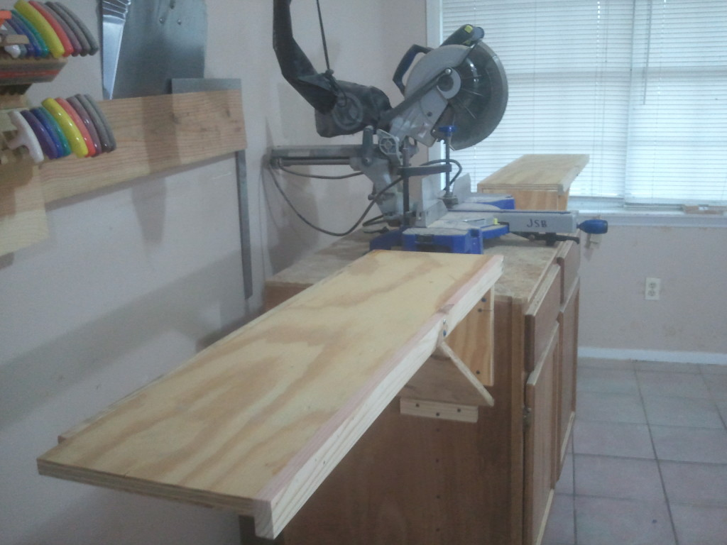 Video Second Miter Saw Station For My Shop Jays Custom