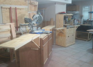 Miter Saw Station