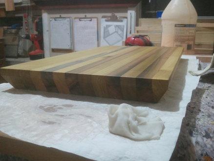 Poplar Cutting Board