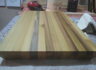 Poplar Cutting Board