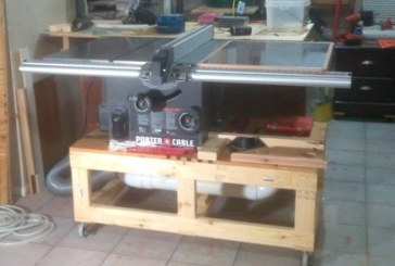 Table Saw and Future Router Station