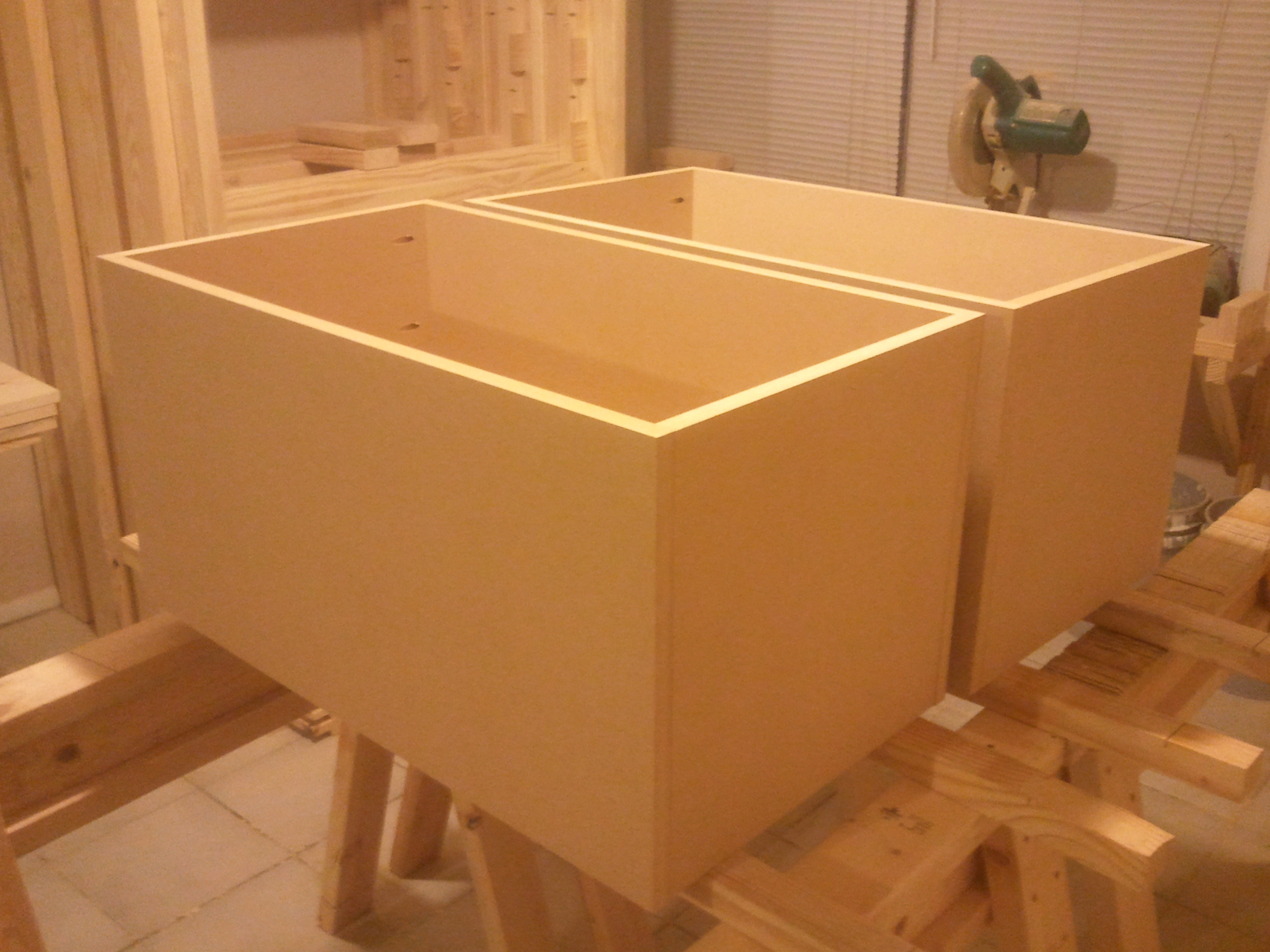 Two Toy Boxes Jays Custom Creations