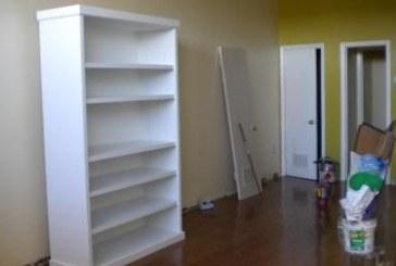 4′ x 7′ Bookshelves