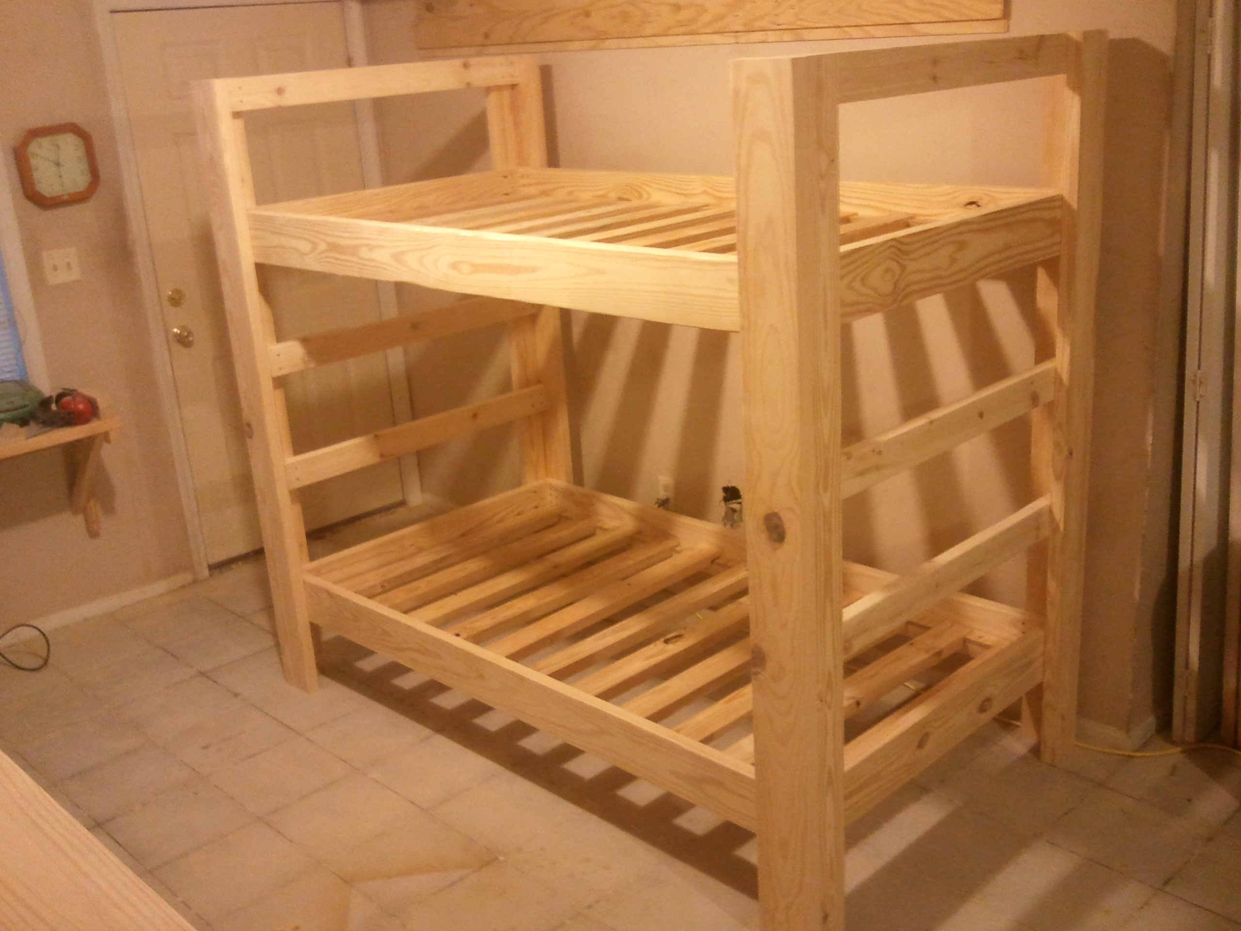 How To Make Bunk Bed Slats