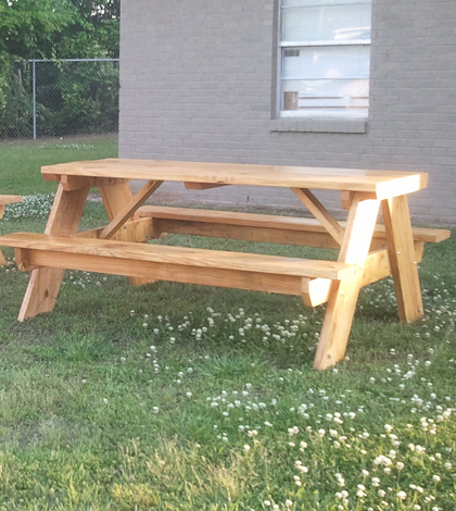 Awe Inspiring How To Build A 6 Foot Picnic Table Jays Custom Creations Dailytribune Chair Design For Home Dailytribuneorg