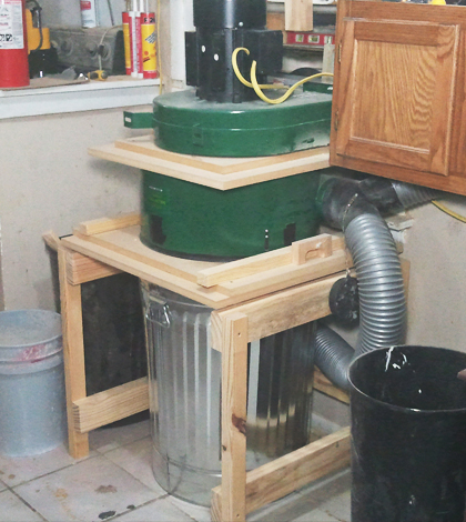 Modified Harbor Freight Dust Collector | Jays Custom Creations