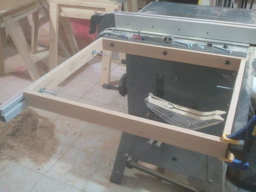 Adding A Table Saw Extension Wing