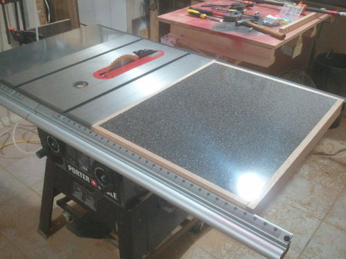 Adding a table saw extension wing jays custom creations table saw extension wing 23 greentooth Choice Image