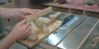 Jointing Small Stock On The Table Saw