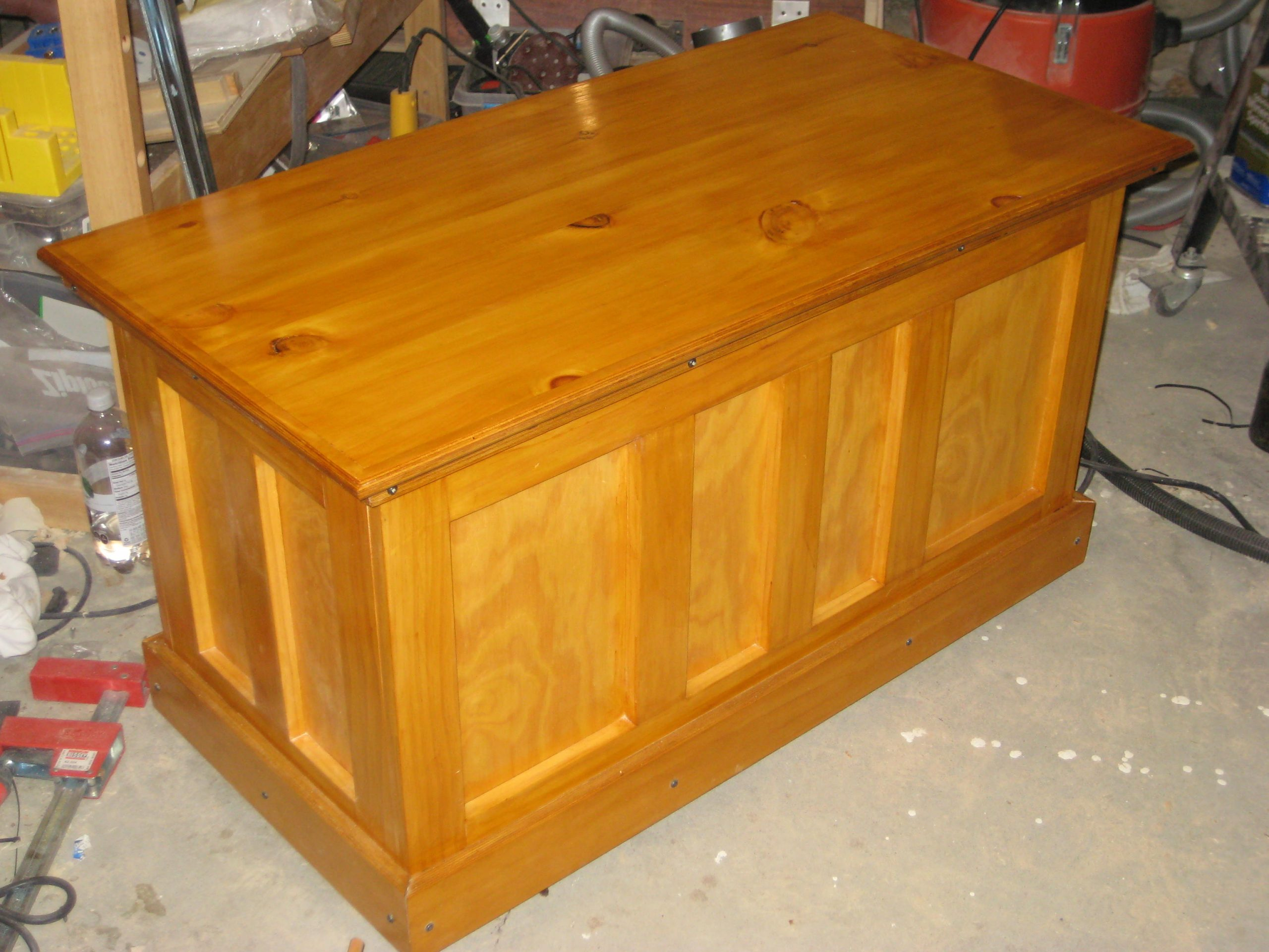 Michael Esposito's Pine Blanket Chest