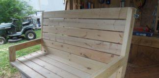 Randy Whittemire's 2x4 porch swing