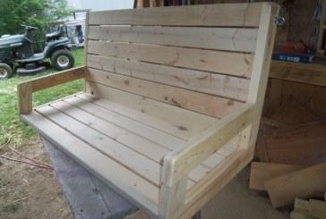 Randy Whittemire's 2×4 Porch Swing