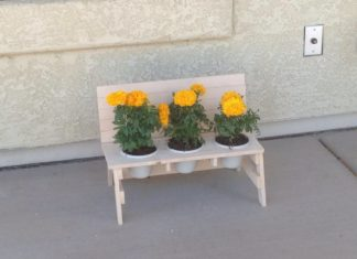 Kevin Wilske Mini Bench
