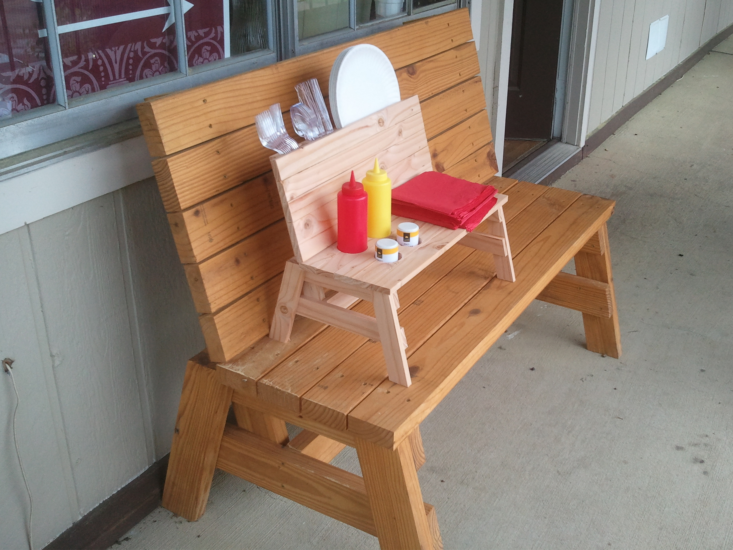 How To Build A Mini Bench Condiment Holder Jays Custom Creations