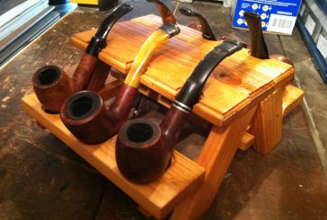 Thom's Mini Picnic Table Pipe Holders