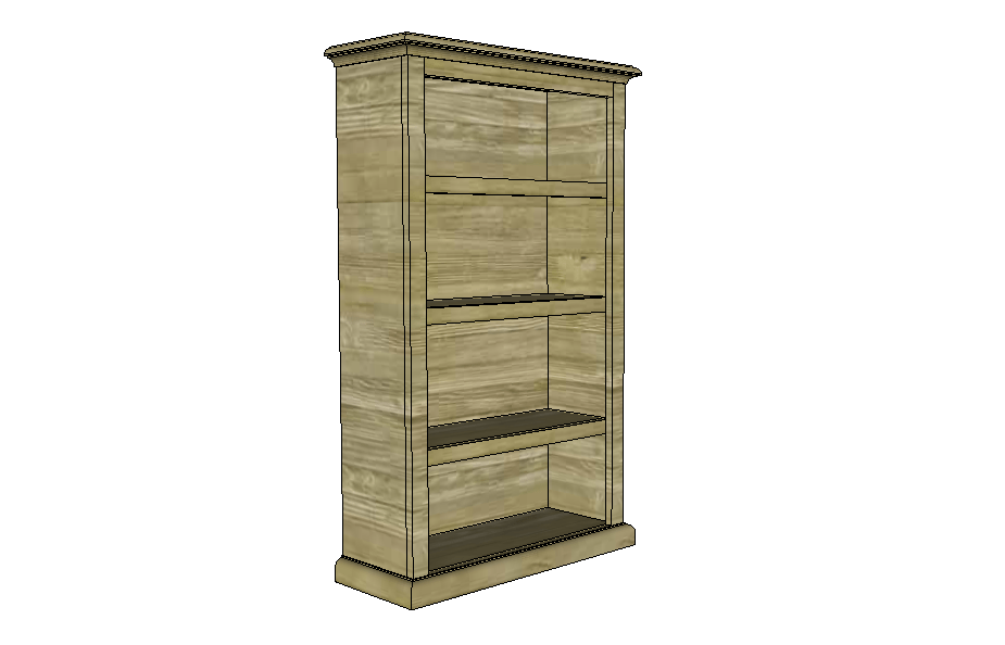 SketchUp: Easy Bookcase