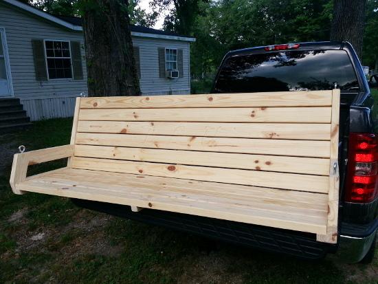 6 foot 2x4 porch swing 1