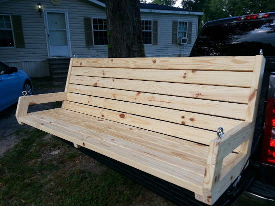 6 foot 2x4 porch swing 2