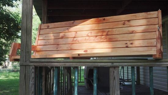 6 foot 2x4 porch swing 4