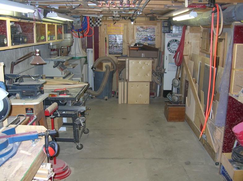 Mike DeKayser's Nice Basement Shop