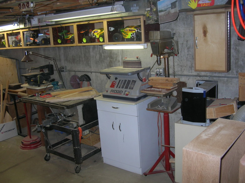 Mike DeKayser's Nice Basement Shop