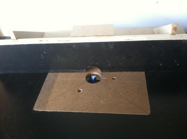 entertainment center router table