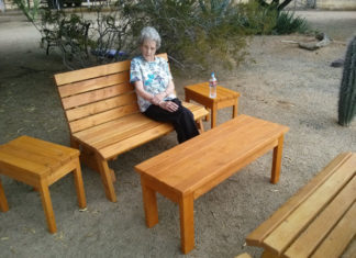 kens 2x4 outdoor furniture 1