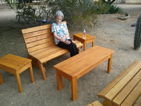Ken's Set of Outdoor Furniture