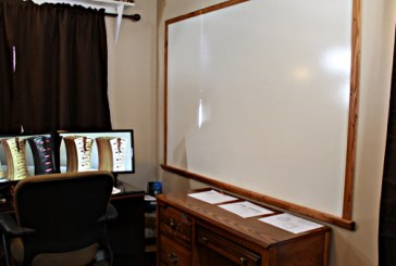Huge Dry Erase Board For About $20
