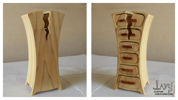 cracked bandsaw box