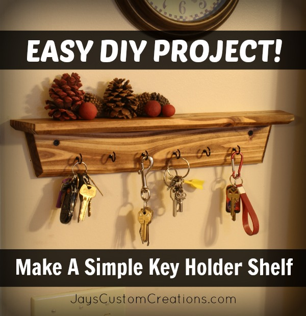 key holder shelf pinterest