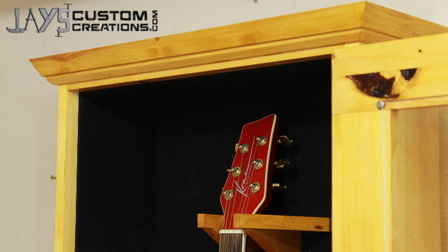 Acoustic Guitar Display Case