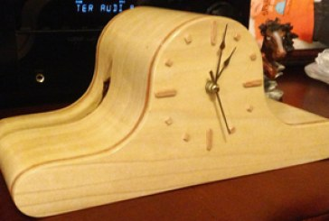 Bandsaw Box Clock With Hidden Storage
