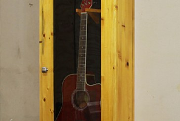 How To Make An Acoustic Guitar Display Case